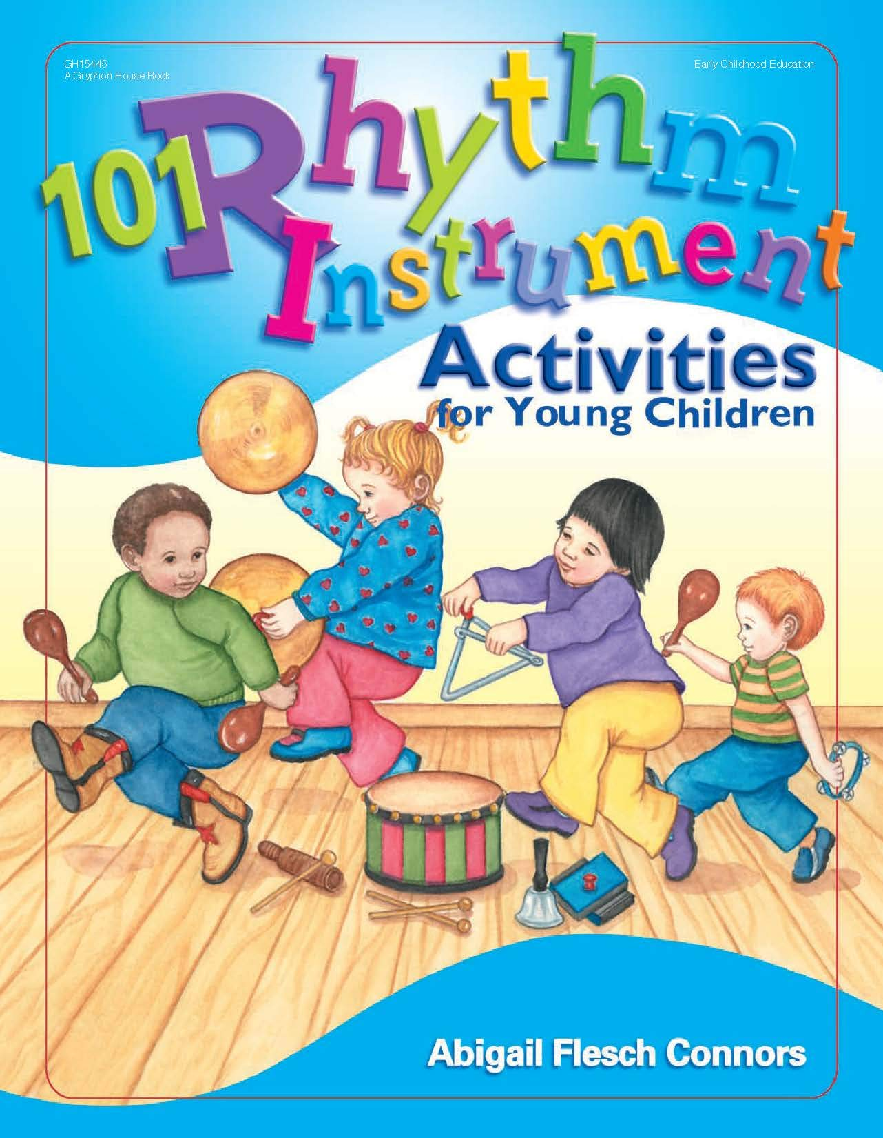 101 Rhythm Instrument Act.//Young Child.