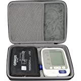co2crea Hard Travel Case for Omron BP742N 5 Series Upper Arm Blood Pressure Monitor Cuff (Size L)