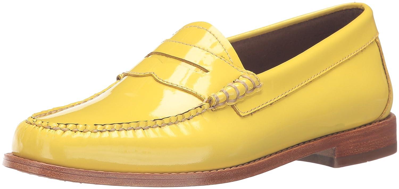 G.H. Bass & Co. Women's Whitney Penny Loafer, Lemon