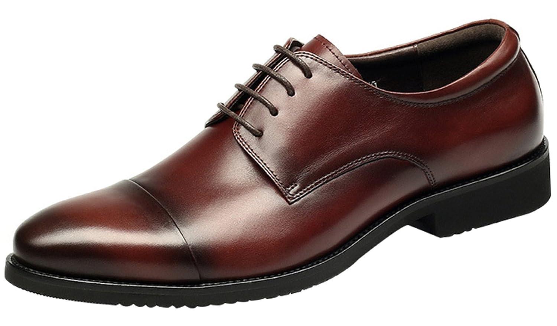 Herren Lace Derby Schuhe Formelle Kleidung Schuhe Arbeitsschuhe