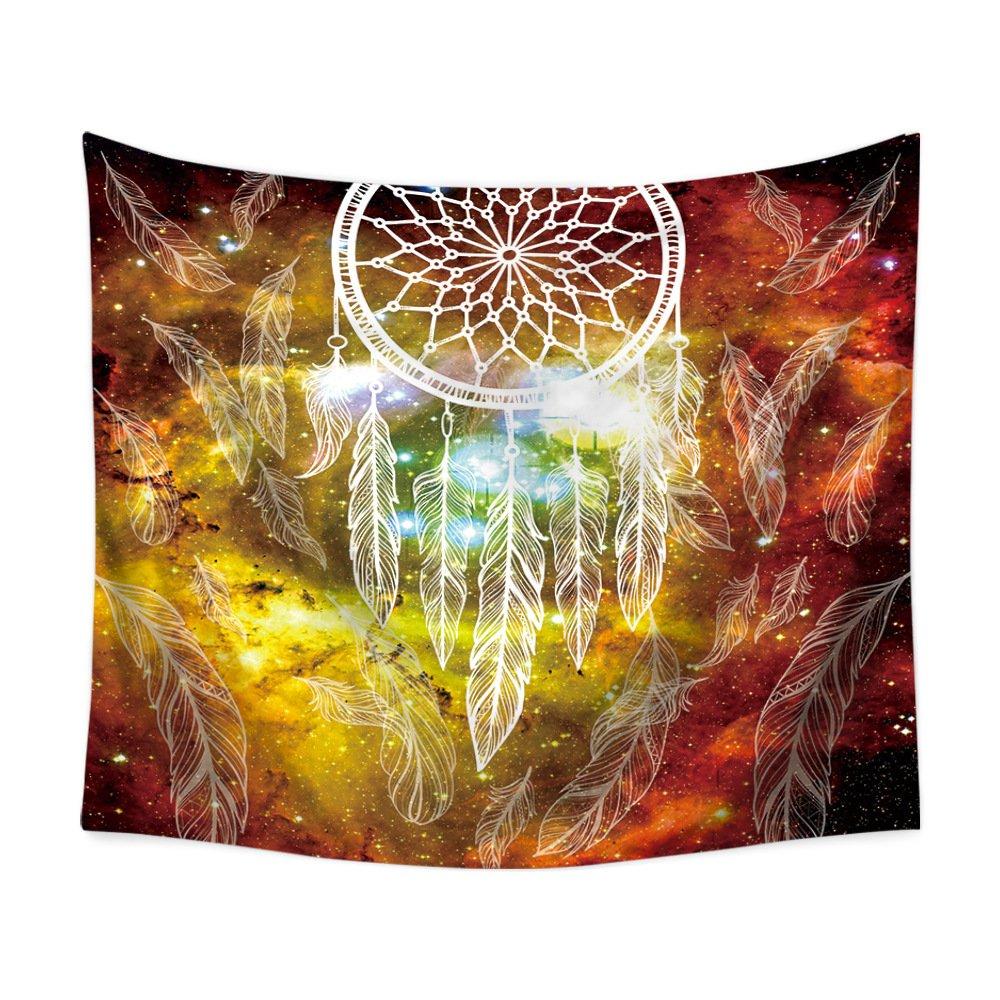 Amazon.com: Galaxy Dreamcatcher Wall Hanging Hippie Bedspread Art ...