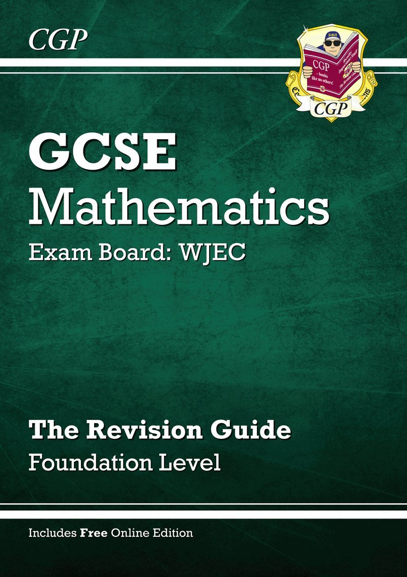 GCSE Maths WJEC Revision Guide with online edition - Foundation (A*-G  Resits): Amazon.co.uk: Richard Parsons: 9781847625083: Books