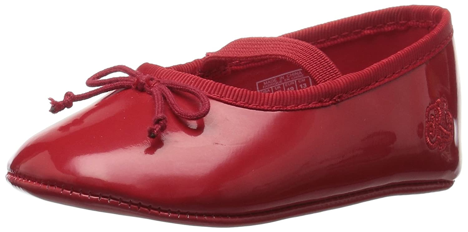 Ralph Lauren Layette Kids' Allie Red Patent Ballet Flat Polo Ralph Lauren Kids Allie Red Patent - K