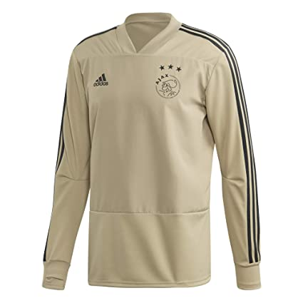 ceeb6a054df Amazon.com   adidas 2018-2019 Ajax Training Top (Raw Gold)   Sports ...