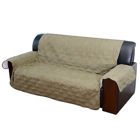 PawHut Protector Funda Sofa para Mascota Perro Gato Mascotas 270x166 cm Suave y Lavable