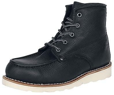 dickies 09 000005, Bottes pour Homme Noir Noir (Black BK) 39 EU 9f1225f9df2e