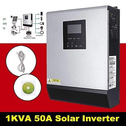El regulador Solar del Cargador, Pantalla LCD 1KVA inversor ...