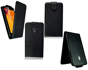 PIXFAB para Vodafone Smart Turbo 7 Funda de Piel Tipo Cartera teléfono móvil + Protector de Pantalla: Amazon.es: Electrónica