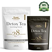 Detox Tea 28 Day Ultimate Teatox - Burn Fat and Boost Your Energy, Colon Cleanse and Flat Belly, Restore Your Body Natural Balance and Accelerate Weigh Loss - Easy Brewing and Taste Delicious