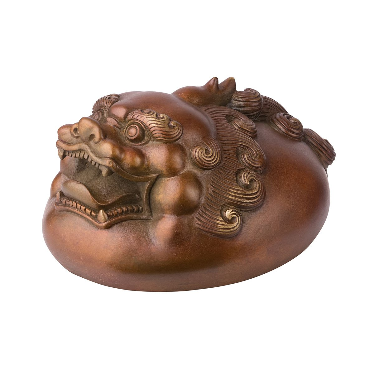 brassmaster fortuna de Pi Xiu Estatua Artware adorno de latón todos ...