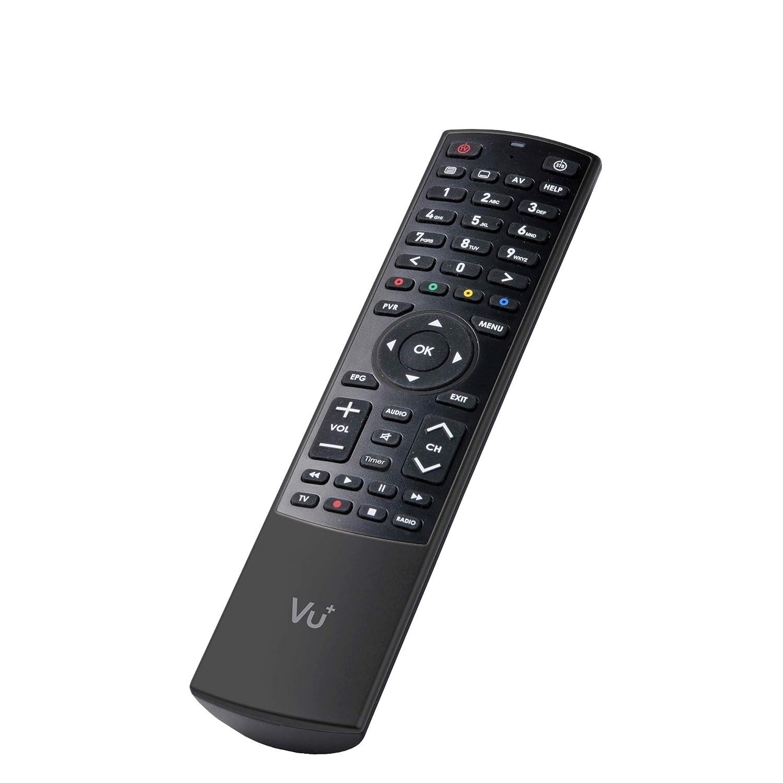 UHD, 2160p Uno 4K SE 1x DVB-S2 FBC Twin Tuner Linux Satellitenreceiver schwarz VU