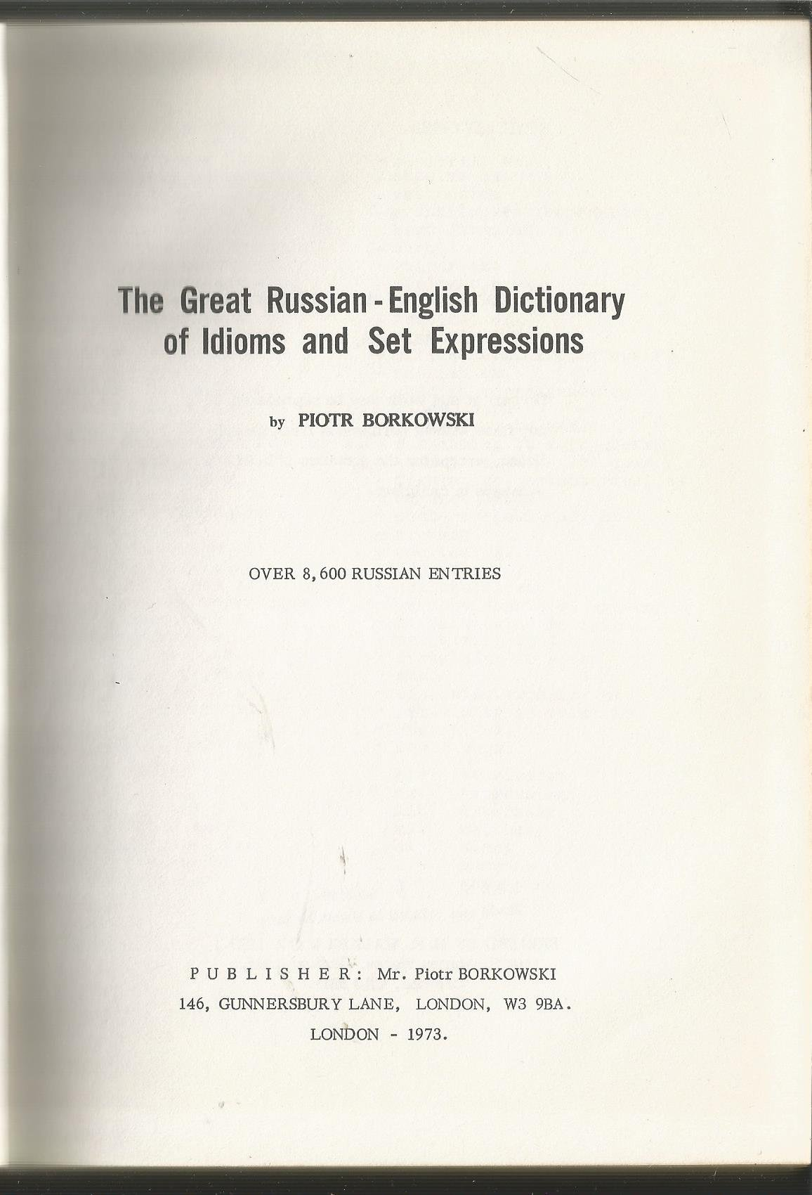 Set expressions in Russian 70
