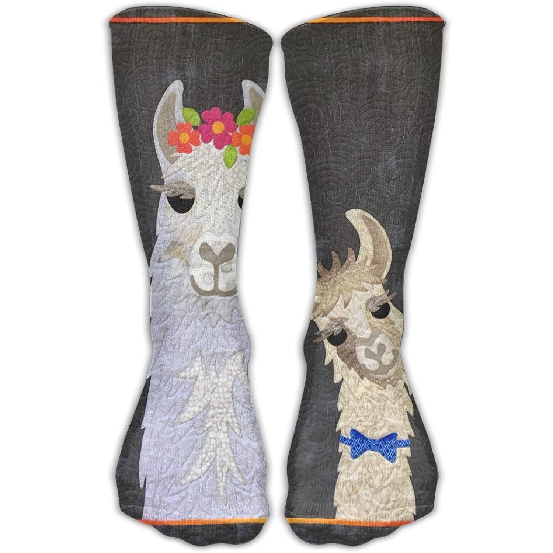 Bag shrots Mama Llama Love Novelty Cotton Crew Socks Casual Ankle Dress Socks For Men& Women 6136558901231