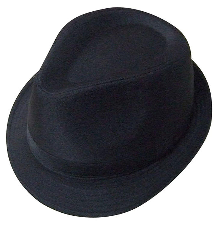 Colore: nero con cappello tipo Trilby-VIZ-WEAR VIZUKWEARTRILBYBLACK