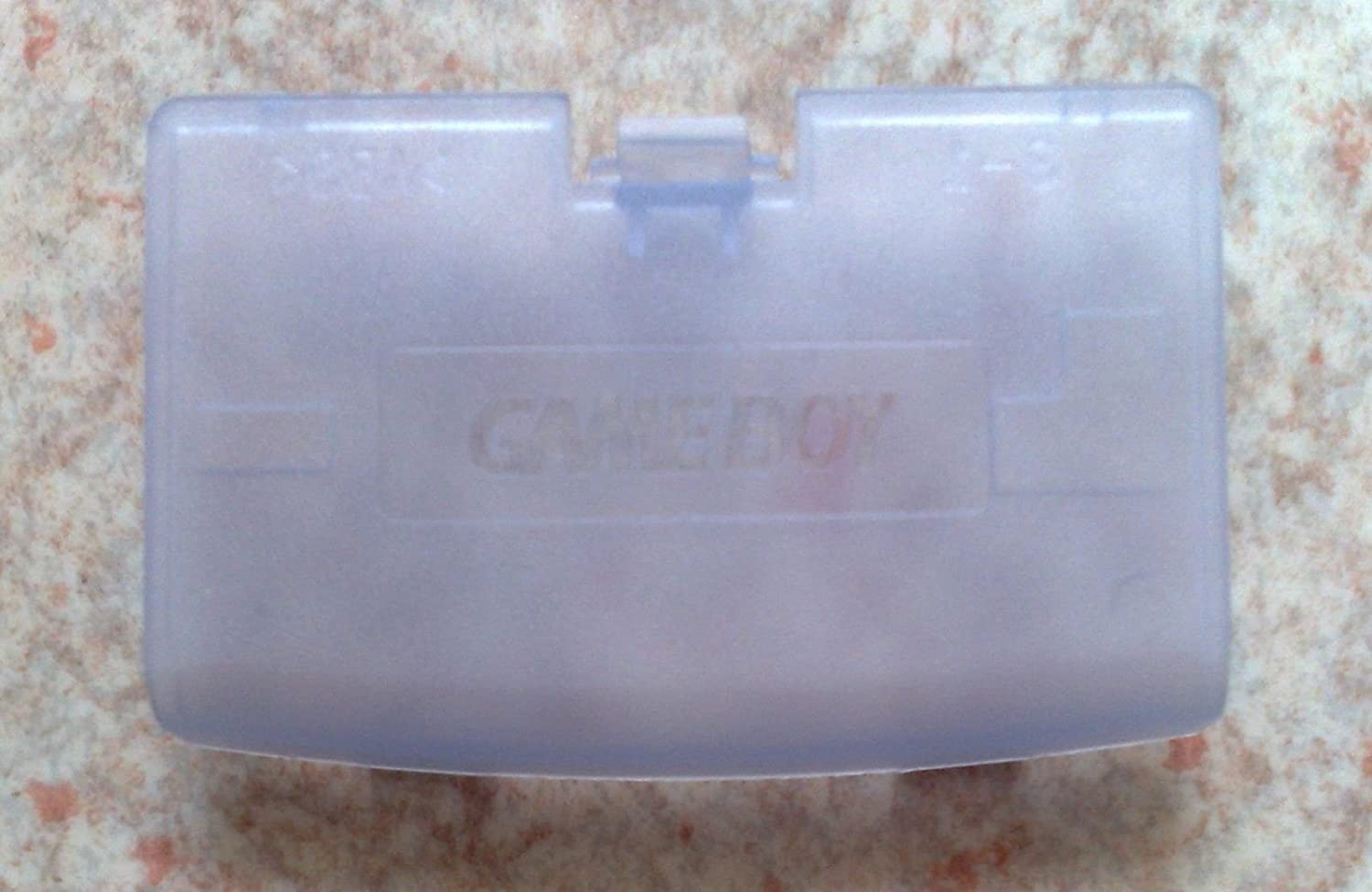 Clear Purple Battery Cover Case Back Door Part for Nintendo Gameboy Advance GBA