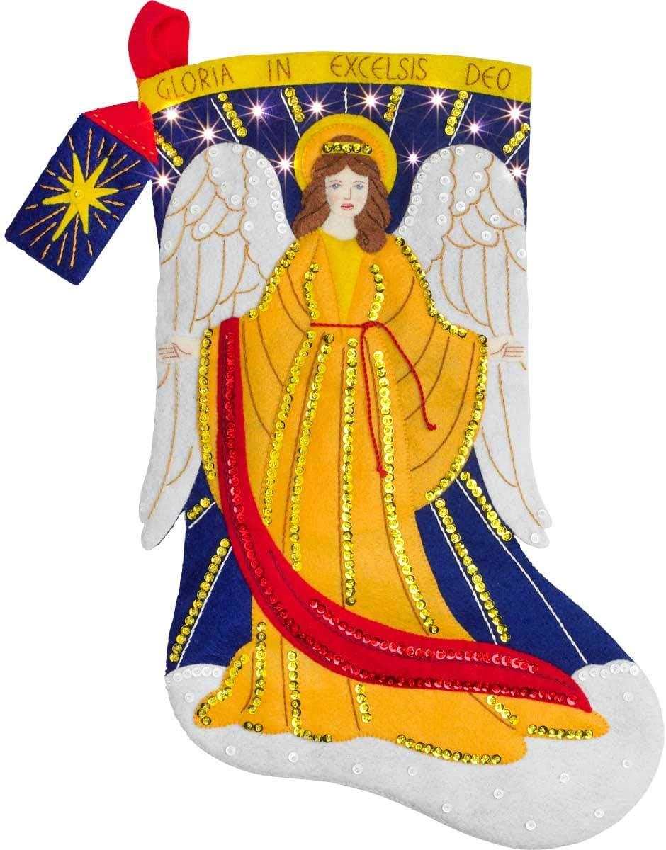 Bucilla Heavenly Messenger Filz-Applikationsset