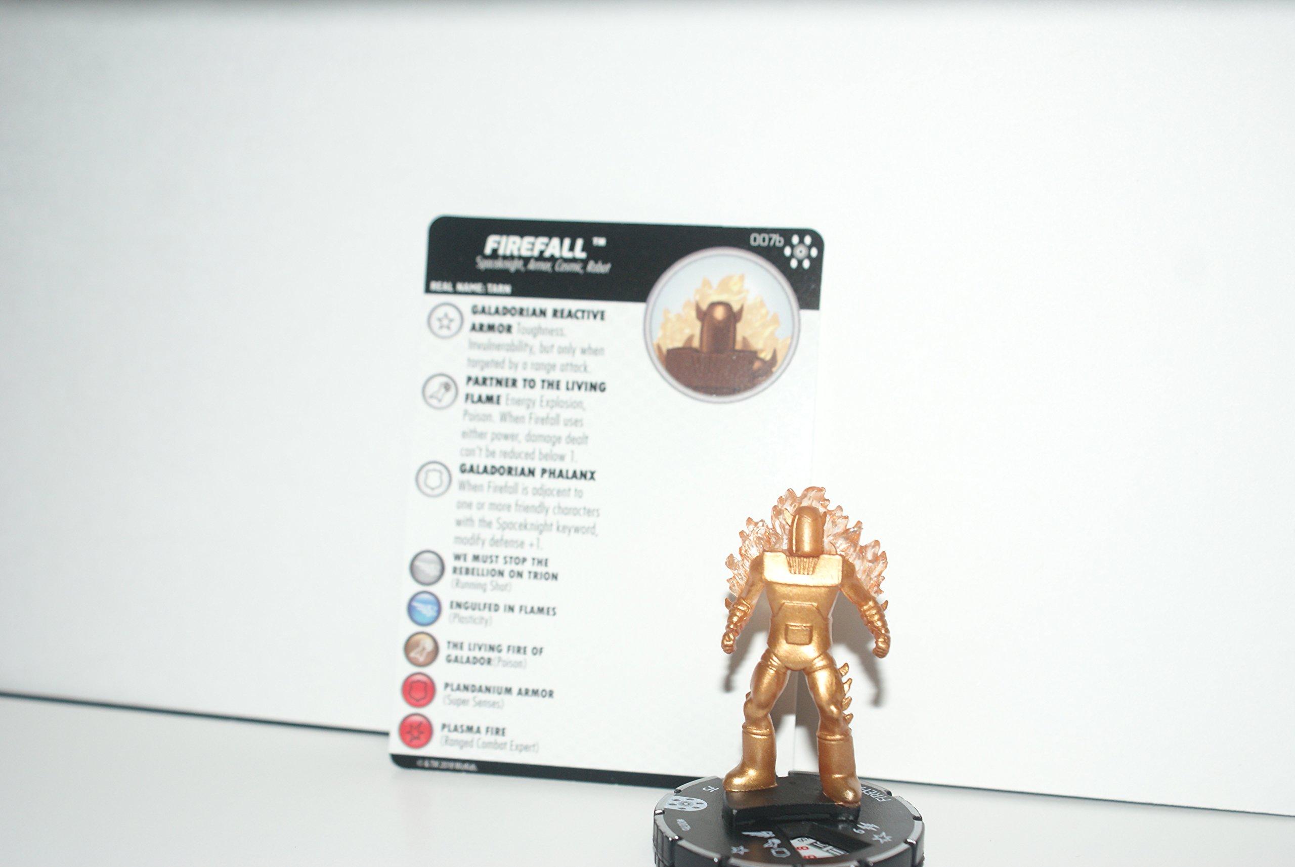 Heroclix Avengers Infinity Firefall #007b Common Prime w/Card