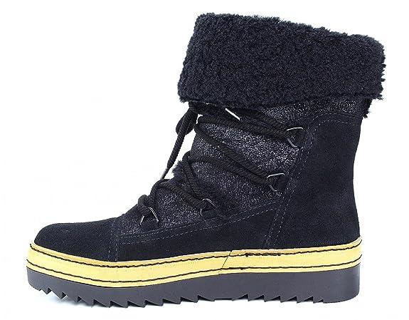 Gabor Schneeboots schwarz Warmfutter Fell, Farbe:schwarz;Größe:42:  Amazon.de: Schuhe & Handtaschen