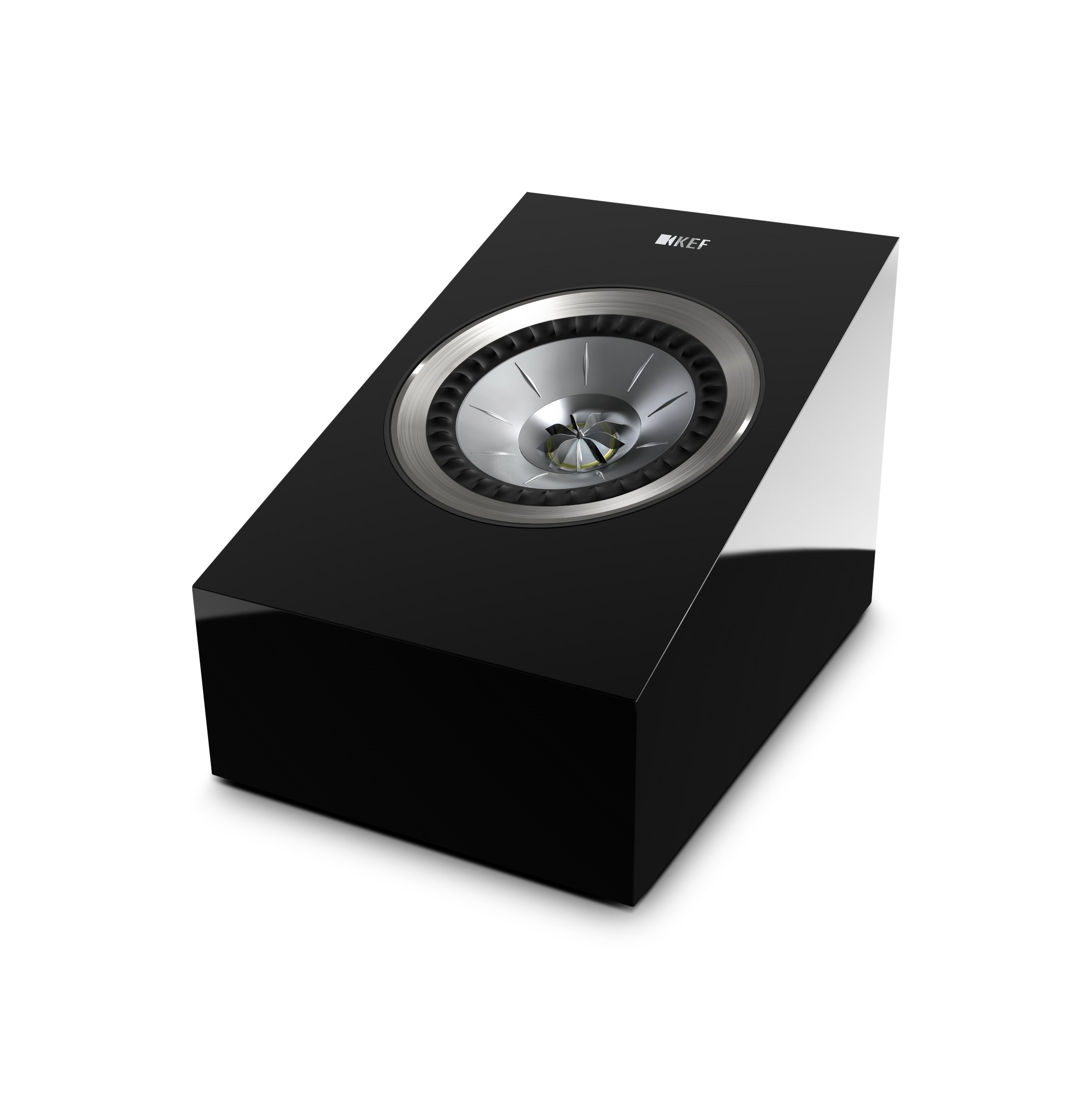 KEF R50 Dolby Atmos-Enabled Speakers - High Gloss Piano Black (Pair) by KEF