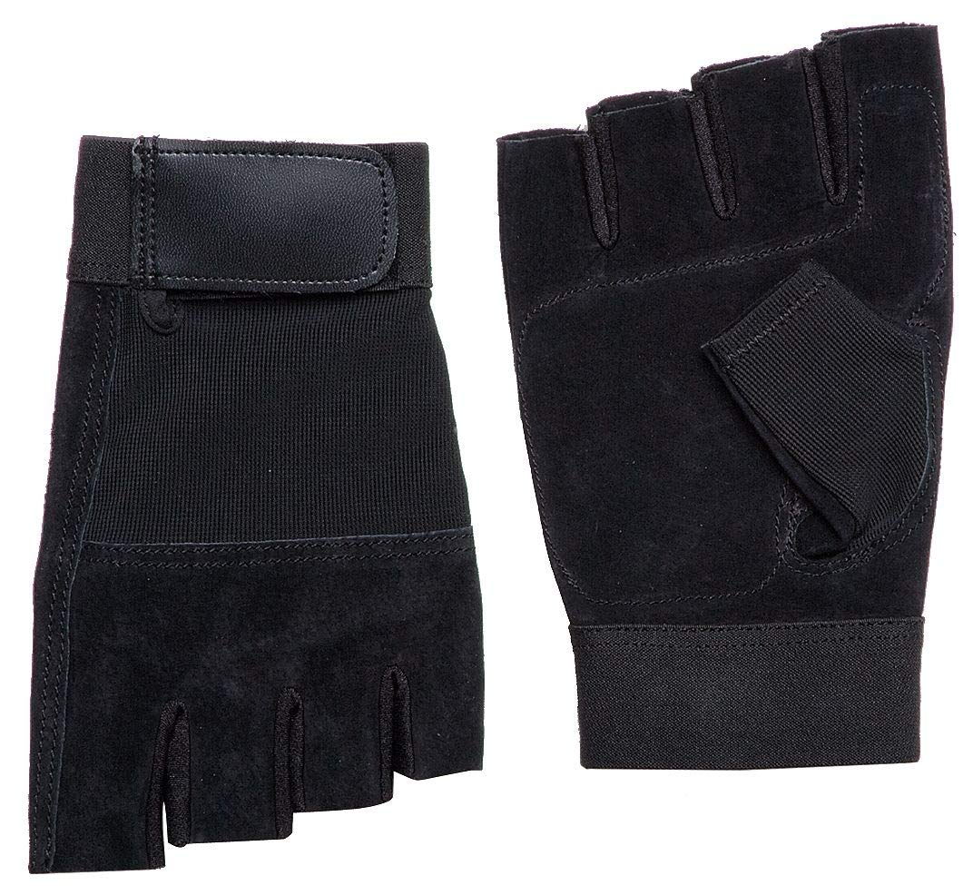 Anti-Vibration Gloves, Pigskin Leather Palm Material, Black, XL, PR 1-1AGJ3, (Pack of 2)