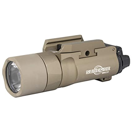 SureFire X300U-B-TN X300 Tan Picatinny Military Tactical Pistol Weapon Light