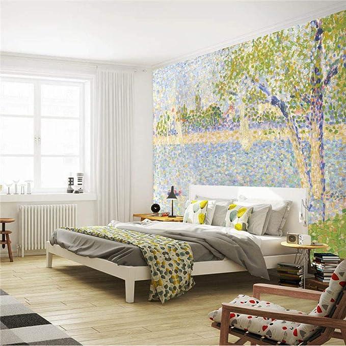 Pintura de impresión Mural Pintura de fama mundial Papel ...