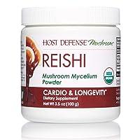 Host Defense, Reishi Mushroom Powder, Supports Energy, Cardiovascular Health and...