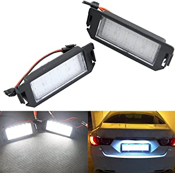 1x Fits Hyundai Coupe RD Bright Xenon White LED Number Plate Upgrade Light Bulb