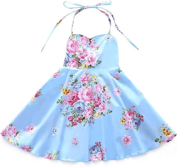 Amazon.com: Flofallzique - Vestido de Pascua para niña ...