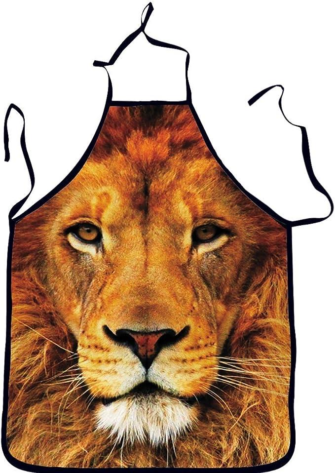 Crazy chèvre lady Stars Chefs Tablier-Drôle Animal Cuisine