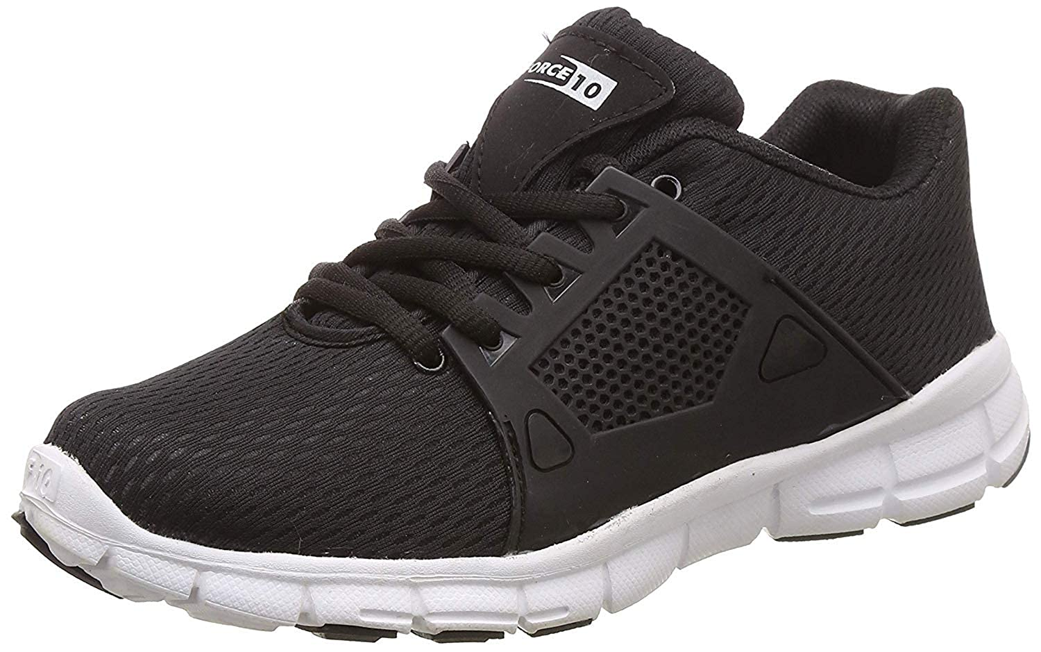 PDM-17 Black Running Shoes at Amazon