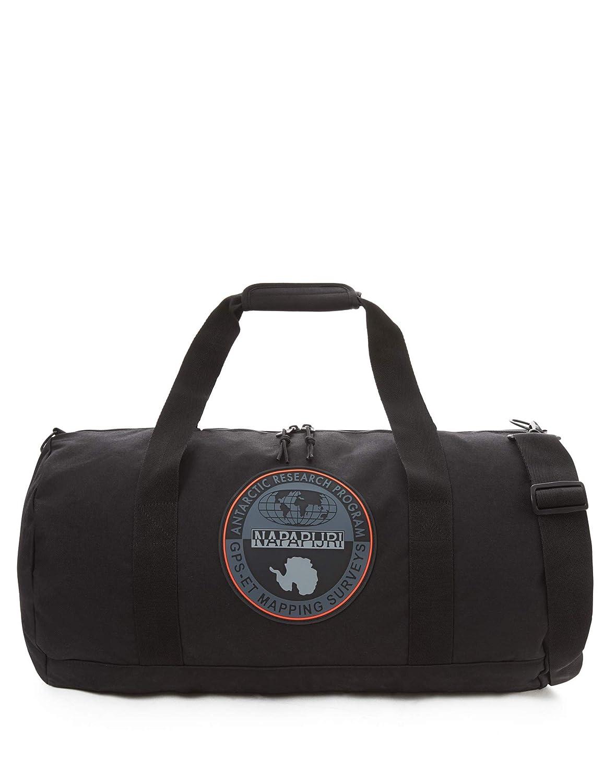 Sac à bandoulière avec poignées et bandoulière sport NAPAPIJRI article N0YHMS HO 60 cm 48 liters Noir (Black)