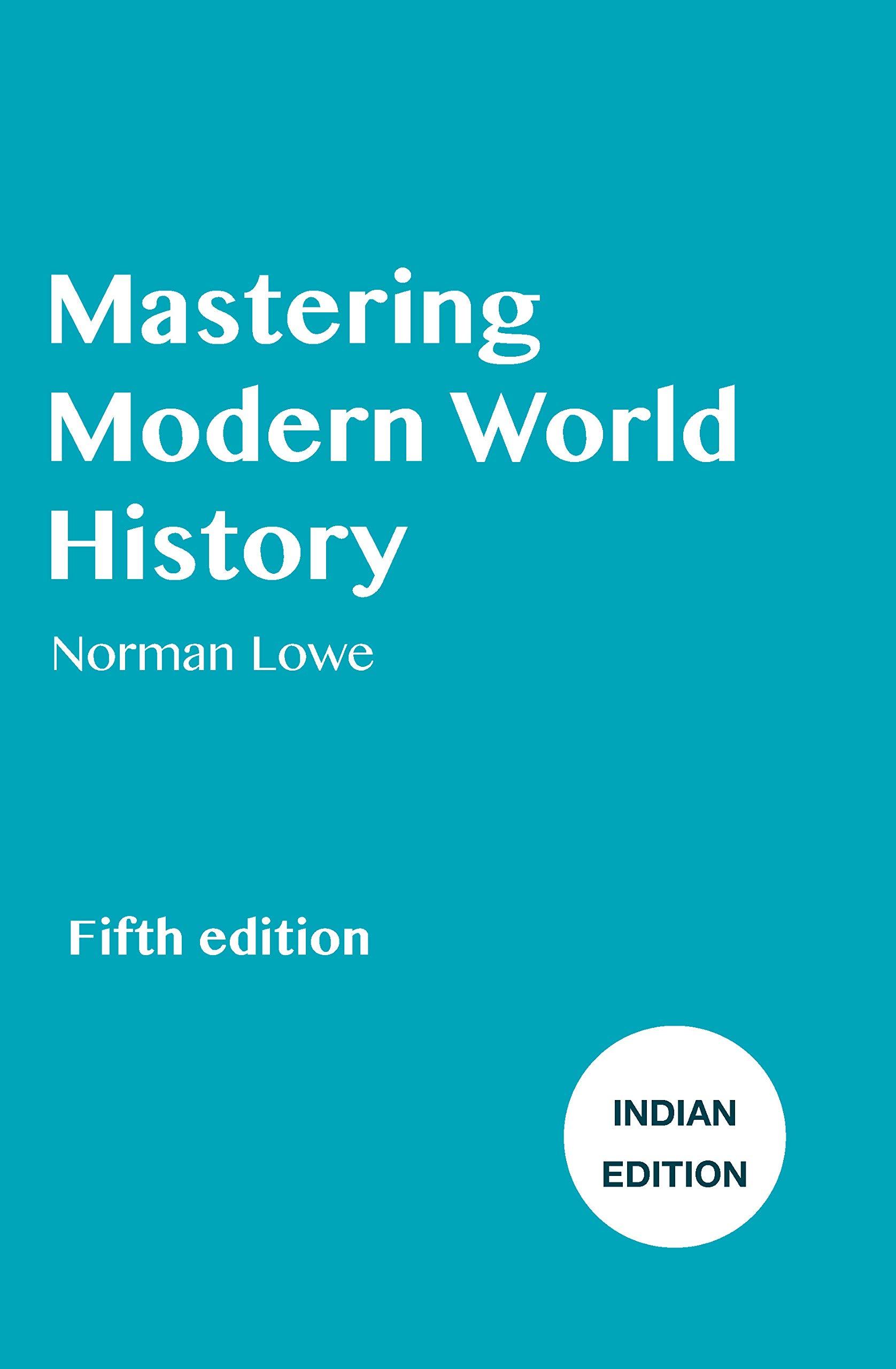 Mastering Modern World History Norman Lowe Ebook