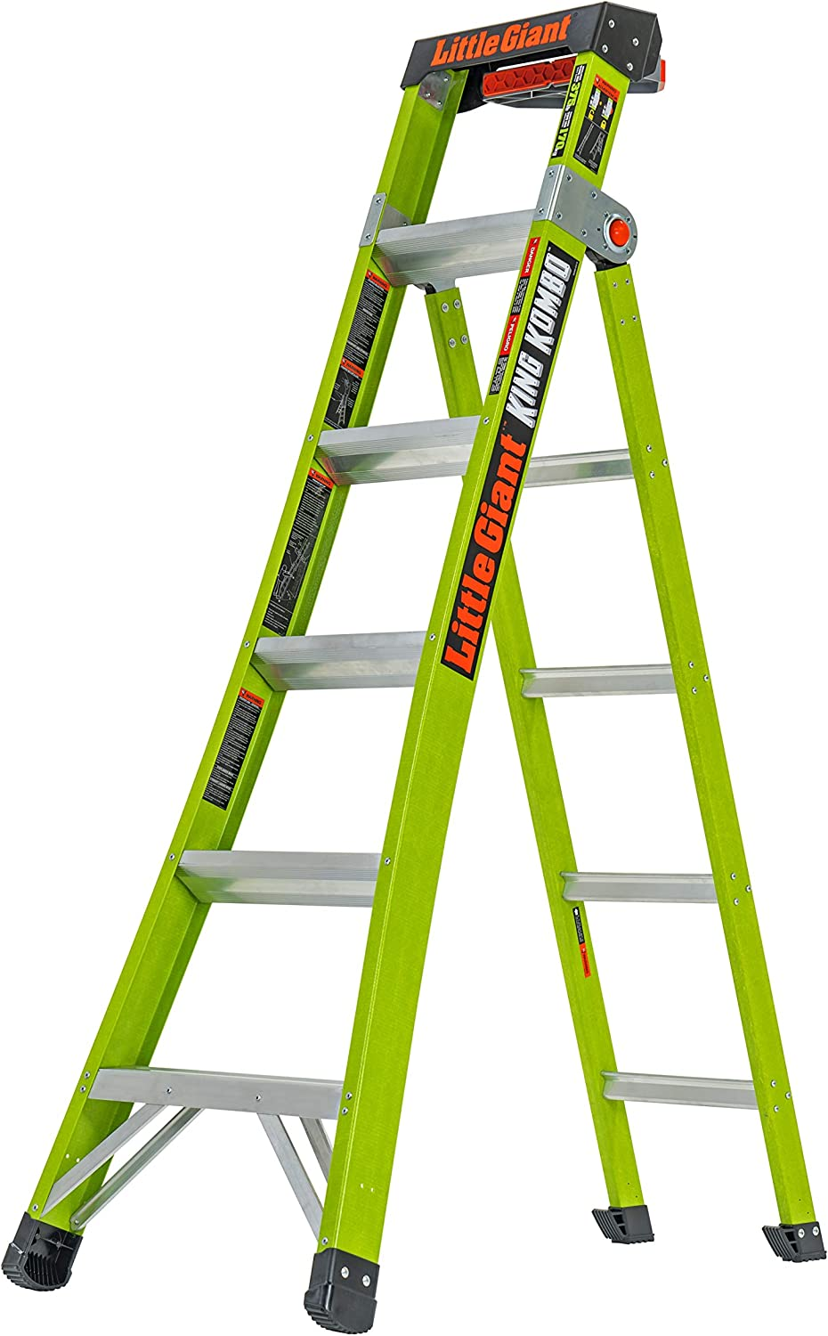 Little Giant Ladder Systems 13610-001 King Kombo Professional 6' - 10', Green