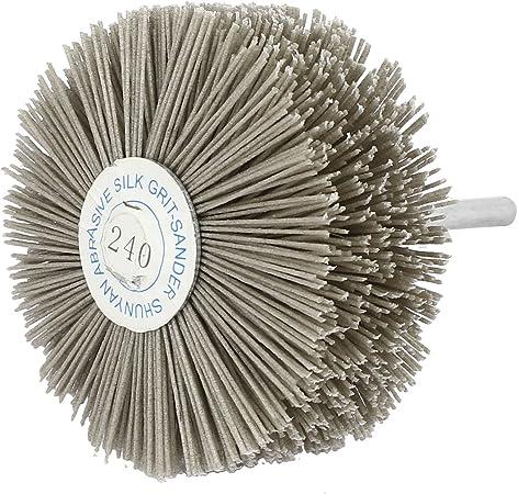 uxcell 600 Grit Abrasive Nylon Wire Brushes Woodworking Polishing Grinding Wheels 5pcs