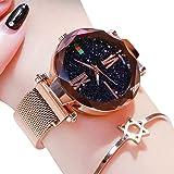 Women Fashion Personality Watch Lazy Magnet Stone Watch Ladies Star Magnet Watch Women Quartz Watch