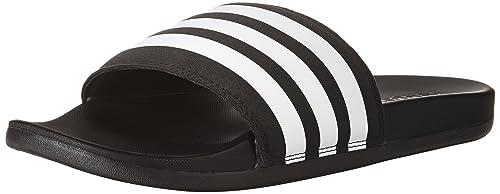 9a9cf25f8dc6 Adidas Women s Adilette Cloudfoam Plus Stripes Slides