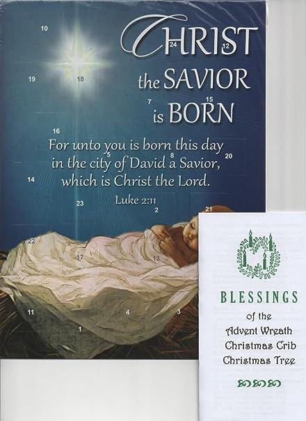 Amazon Christ Is Born Baby Jesus Folk Art Nativity Advent