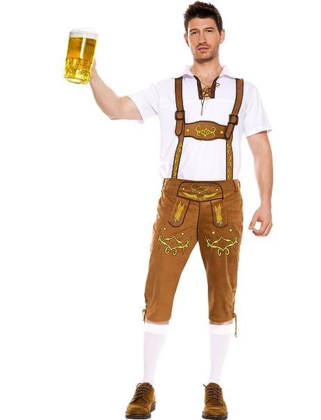 Amazon.com: Música patas de los hombres Baviera Lederhosen ...