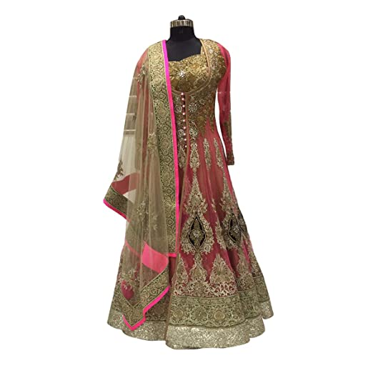 Indian Anarkali Shalwar Kameez Suit Sari Wedding Ethnic