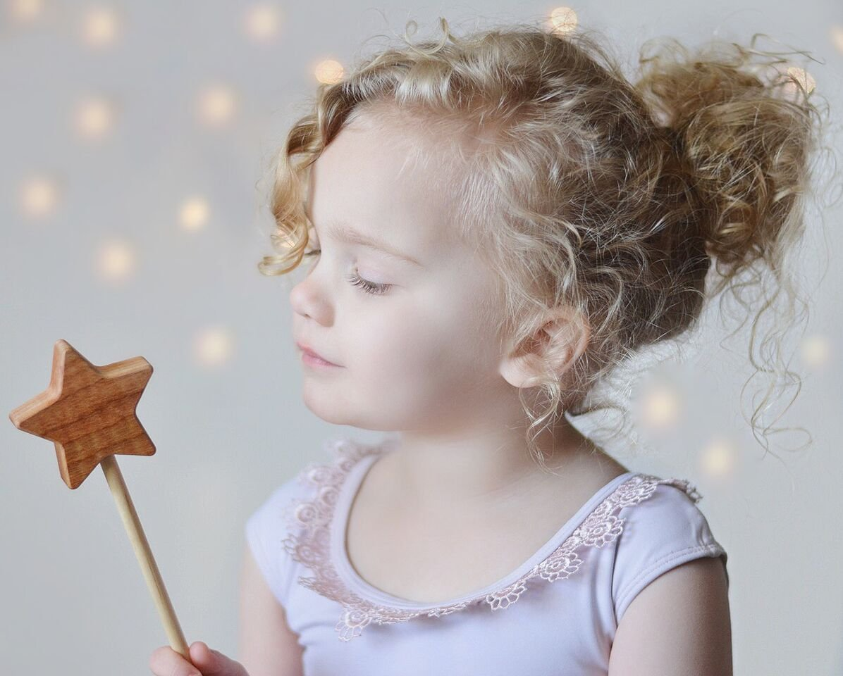 Wooden Star Wand Toy