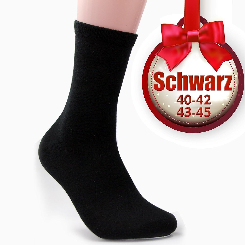 OUBO 6 Paar Herrensocken Baumwolle stabil Winter Arbeitsocken Sportsocken herren Socken