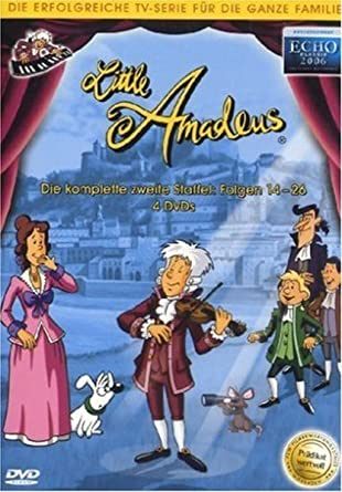 Little Amadeus Staffel 2 Folge 14 26 4 Dvds Amazonde