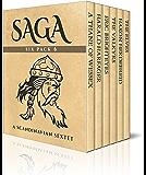 Saga Six Pack 6 - A Thane of Wessex,  Harald Harfager's Saga,  Eric Brighteyes, The Valkyrs, Saga of Hakon Herdebreid and The Elves (Illustrated) (English Edition)