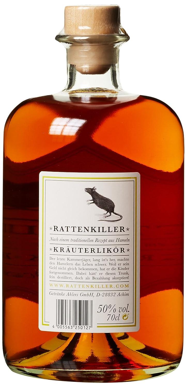 Rattenkiller Kräuter (1 x 0.7 l): Amazon.de: Bier, Wein & Spirituosen