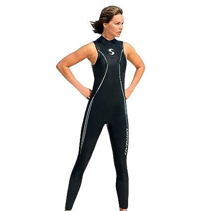 d6c420d3cb Amazon.com   Synergy Hybrid Women s Sleeveless Triathlon Wetsuit (P3 ...