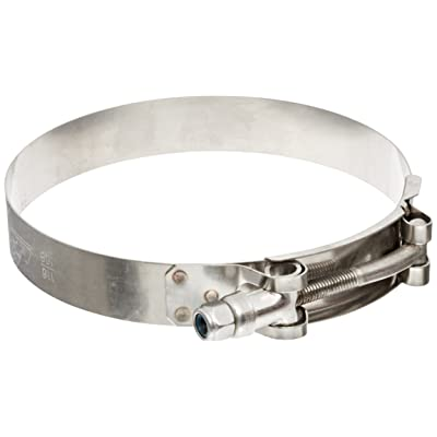 "HPS Stainless Steel T-Bolt Hose Clamp, fit 1.25"" 1.38"" ID hose, Range: 1.61"" - 1.77"": Industrial & Scientific"