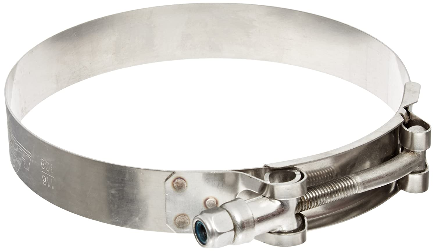 HPS (SSTC-41-46) 41mm - 46mm Stainless Steel T-Bolt Clamp for 1-1/4' and 1-3/8' Hose