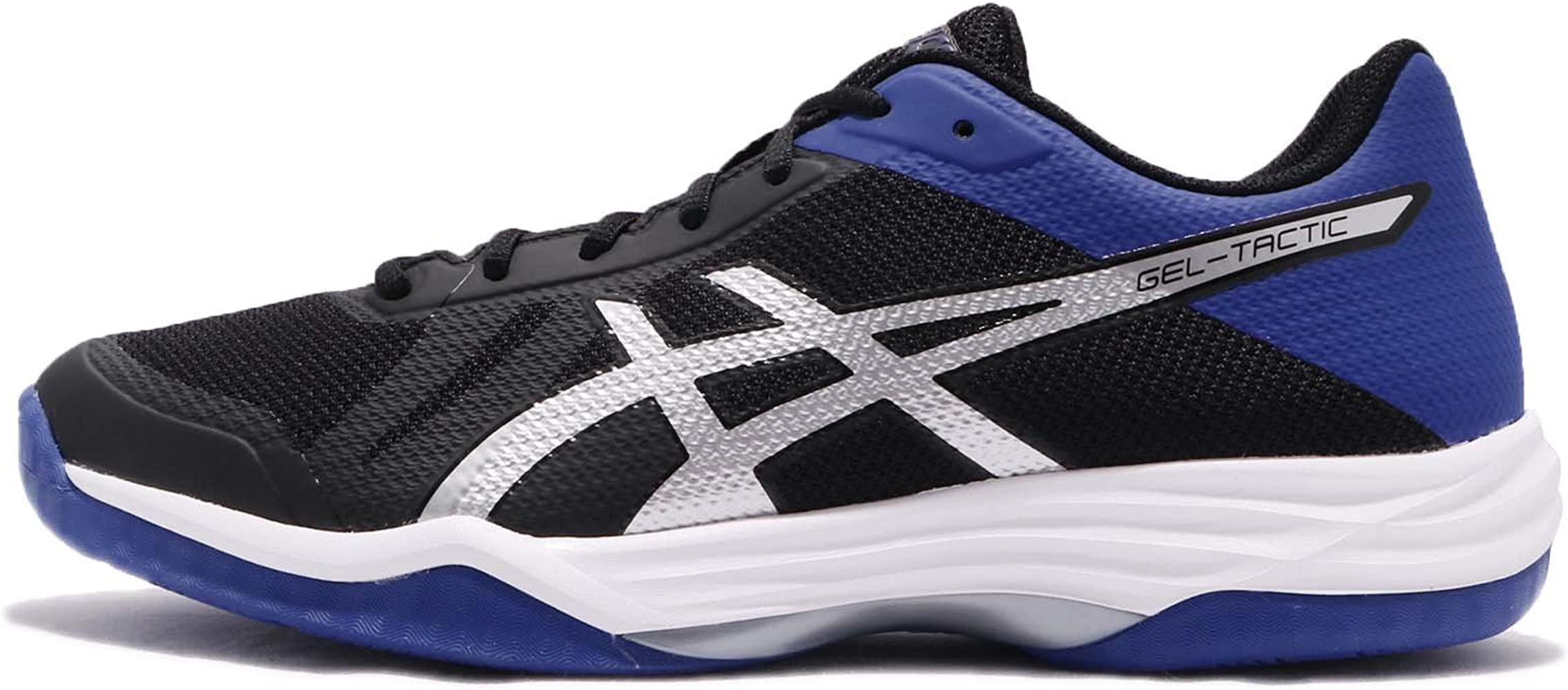 Amazon Com Asics Gel Tactic Mens Volleyball Trainers B702n Sneakers Shoes Uk 6 5 Us 7 5 Eu 40 5 Black Blue Silver 9045 Shoes