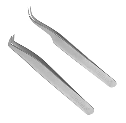 52535146d73 Image Unavailable. Image not available for. Color: Eyelash Extension  Tweezers Professional ...